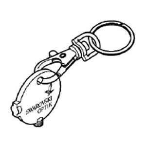 Bilde av Swarovski myntformet nøkkel for EL Range