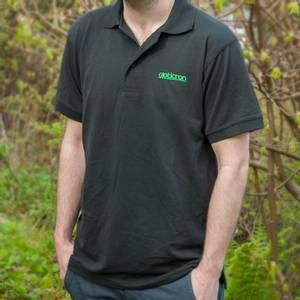 Bilde av Opticron poloskjorte, svart - herre S