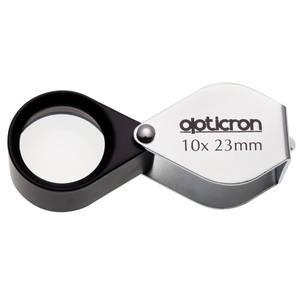 Bilde av Opticron foldelupe i metalldeksel 10x 23 mm